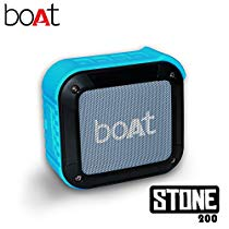 Get Boat Stone 200 Portable Bluetooth Speakers (Blue) at Rs 1039 | Amazon Offer