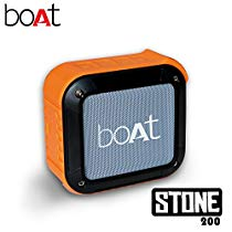 Get Boat Stone 200 Portable Bluetooth Speakers (Orange) at Rs 1039 | Amazon Offer