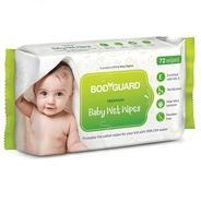Get BodyGuard Premium Paraben Free Baby Wet Wipes with Aloe Vera - 72 Wipes at Rs 90 | Amazon Offer