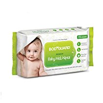 Get BodyGuard Premium Paraben Free Baby Wet Wipes with Aloe Vera at Rs 90 | Amazon Offer