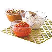 Get Borosil Glass Mixing Bowl Set, 3-Pieces, Transparent at Rs 792 | Amazon Offer