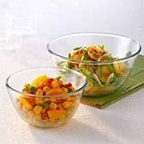 Get Borosil Glass Mixing Bowl Set, 3-Pieces, Transparent at Rs 982 | Amazon Offer