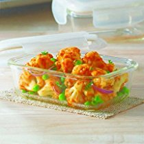 Get Borosil Klip & Store Rectangular Containers with Lid, 370ml at Rs 266 | Amazon Offer