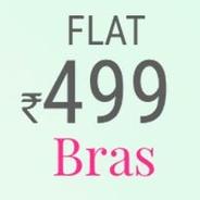 Get Bras Flat Rs.499 | prettysecrets Offer
