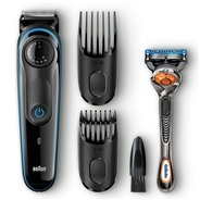 Get Braun BT3040 Beard / Hair Trimmer for Men with Free Gillette Fusion ProGlide Manual Razor at Rs