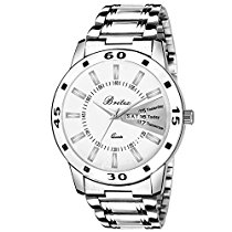 Get Britex Day and Date Watch For Men/Boys – (BT7019) at Rs 299 | Amazon Offer