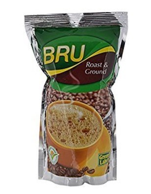 Get BRU Green Label, 500g Poly Pack      at Rs 140 | Amazon Offer