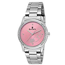 Get Buccachi Analogue Pink Dial Womens Watch B-L1032-PK-Ch at Rs 299 | Amazon Offer