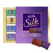 Get Cadbury Miniatures Collection Dairy Milk Silk, 200g at Rs 199 | Amazon Offer