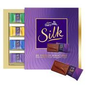 Get Cadbury Miniatures Collection Dairy Milk Silk, 200g at Rs 293 | Amazon Offer