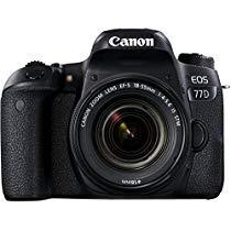 Get Canon EOS 77D 24.2MP Digital SLR Camera + EF-S 18-55 mm 4-5.6 is STM Lens/Camera Case at Rs 5900