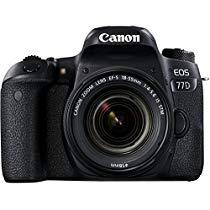 Get Canon EOS 77D 24.2MP Digital SLR Camera + EF-S 18-55 mm 4-5.6 is STM Lens/Camera Case at Rs 5999