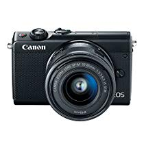Get Canon EOS M100 2209C011 Mirrorless Camera w/ 15-45mm Lens – Wi-Fi, Bluetooth and NFC Enabled (