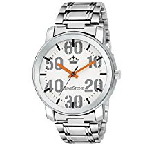 Get Casual Analog White Dial Men's Watch – (LS2711) at Rs 299 | Amazon Offer