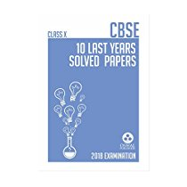 Get CBSE 10 LAST YEARS SOLVED PAPER FOR Class X at Rs 239 | Amazon Offer