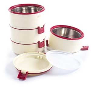 Get Cello Amaze Insulated Lunch Carrier3 Container    or 4 Container   486   at Rs 390 | Amazon Offe