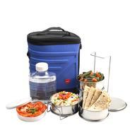 Get Cello Archo Plastic 3 Container Lunch Packs, Blue at Rs 379 | Amazon Offer