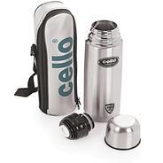 Get Cello Lifestyle Double Wall 750 ml Flask (Pack of 1, Silver) at Rs 479 | Flipkart Offer