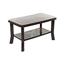 Get Cello Oasis Four Seater Centre Table (Ice Brown) at Rs 939   Amazon Offer