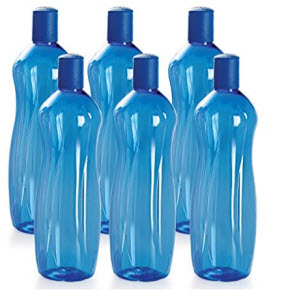 Get Cello Sipwell PET Bottle Set 1 Litre Set of 6     at Rs 156 | Amazon Offer