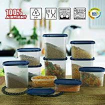 Get Cello Snapfresh Container Set 10 Pcs-Blue at Rs 783 | Amazon Offer