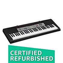 Get (CERTIFIED REFURBISHED) Casio CTK-1550 61-Key Standard Keybo at Rs 4409 | Amazon Offer