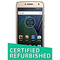 Get (Certified REFURBISHED) Moto G5 Plus XT1686 (Fine Gold 32GB at Rs 7999 | Amazon Offer