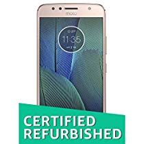 Get (Certified REFURBISHED) Moto G5S Plus (Gold) at Rs 9099 | Amazon Offer
