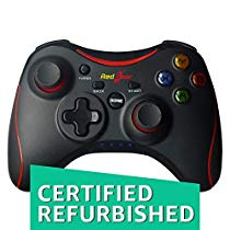 Get (CERTIFIED REFURBISHED) Redgear Pro Wireless Gamepad (Black) at Rs 899 | Amazon Offer