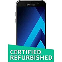 Get (Certified REFURBISHED) Samsung Galaxy A5 2017 A520 (Black S at Rs 13299 | Amazon Offer