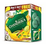 Get Chandrika Ayurveda Handmade Soap (125g x 3 + 75g Free) at Rs 109 | Amazon Offer