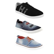 55f54f8ae Get Chevit Mens Combo Pack Of 3 Casual Shoes