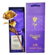 Get Chocholik 24K Gold Rose 10 Inches With Gift Box at Rs 280 | Amazon Offer