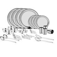 Get Classic Essential Pack of 36 Dinner Set (Steel) at Rs 939 | Flipkart Offer