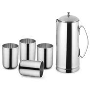Get Classic Essentials 151845 Jug Glass Set (steel) at Rs 299   Flipkart Offer