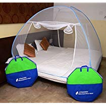 Get Classic Mosquito Net Foldable King Size Double Bed With Sav at Rs 1039 | Amazon Offer