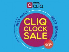 Get  CLiQCLOCK Sale Extra 15% off on  5000 with Axis Cards at Rs 4250 | TataCliq Offer