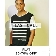 Get Clothing Accessories Flat 60% - 70% OFF | Ajio Offer