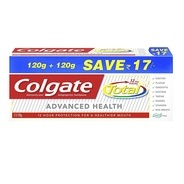 Get Colgate Total Advance Health Toothpaste - 240 g at Rs 109 | Amazon Offer