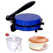 Get Coloured Roti Maker Cum Multi Snack Maker With Atta Kneeder at Rs 999 | homeshop18 Offer