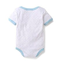 Get Comfortable Baby Bodysuit Onesie made  Organic Cotton – Light Blue at Rs 109 | Amazon Offer