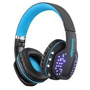 Get Cosmic Byte Aura B3506 V2 Bluetooth Headphone with Mic (Black/Blue) at Rs 1699 | Amazon Offer