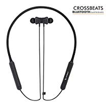 Get CrossBeats Vibe IPX-6 Rain Resistant Bluetooth Earphones at Rs 3699 | Amazon Offer