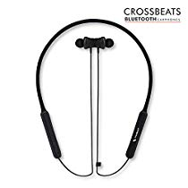 Get CrossBeats Vibe Silicon TPU Bluetooth Headset with Mic Neckb at Rs 3699 | Amazon Offer