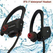 Get CrossBeats Wave Wireless Bluetooth Earphones Headset Headphones Sports IPX-7 Waterproof at Rs 27