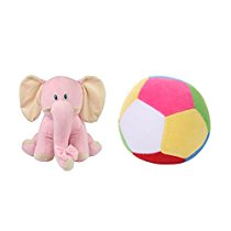 Get Deals India Pink Elephant And Mini Ball Combo at Rs 284 | Amazon Offer