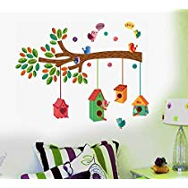 Get Decals Design ' Bird House on a Branch' Wall Sticker at Rs 69 | Amazon Offer