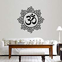 Get Decals Design 'Designer Om' Wall Sticker (PVC Vinyl, 60 cm x 60 cm, Black) at Rs 109 | Amazo