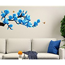 Get Decals Design 'Floral Branch with Realistic Flowers' Wall Sticker at Rs 109 | Amazon Offer