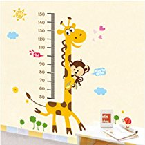 Get Decals Design 'Kids Giraffe Height Chart' Wal at Rs 109 | Amazon Offer